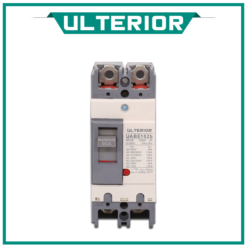 ULTERIOR NSX250F Mccb Electric Moulded Case Circuit Breaker Types