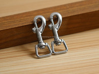 china supply cheap high quality metal small eye hooks for pet.charming metal material snap hook for bag