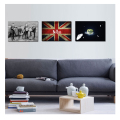 Wholesale Stretched Rock Band Beatles Picture Canvas Print Nostalgic Style Printed Canvas Bedroom Decoration