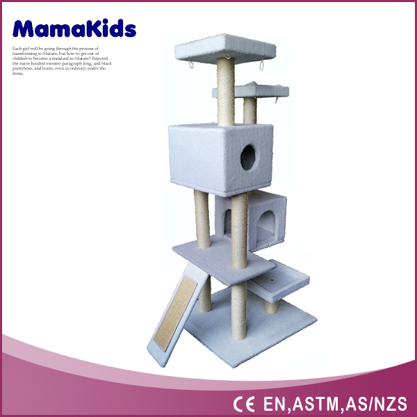 2016 New arrival High quality Multi-plate Fashion Cat Tree House,Cat Scratching Tree