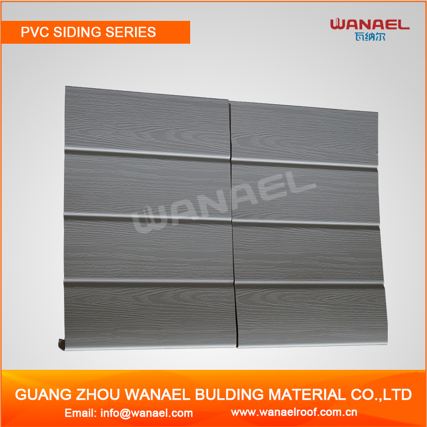 Guangzhou Supplier Residential Vinyl Siding Exterior Wall Cladding Dampproof