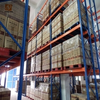 Warehouse shelving heavy duty racking system