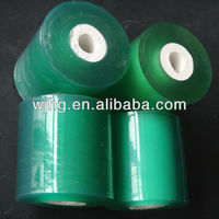 india blue pvc wrapping film hot sale
