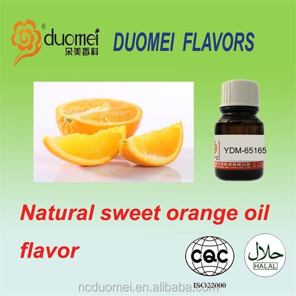 Natural sweet orange flavor liquid fragrance oil based flavor food grade flavor for bakery