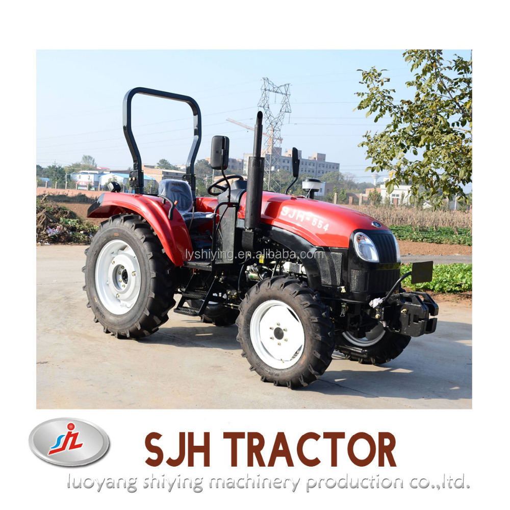 agricultural machinery equipment 55hp 4wd farm tractor