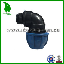 PP 90 Degree Male Elbow coupling couplers