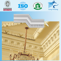 Good Finishing Italy Plaster Of Paris Moulding /Fiber Plaster Cornice