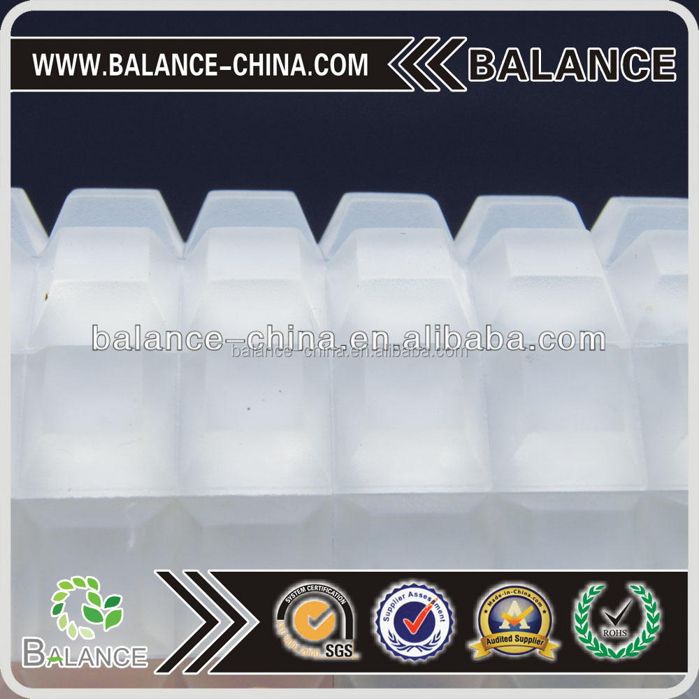 Self adhesive Transparent silicone rubber foot