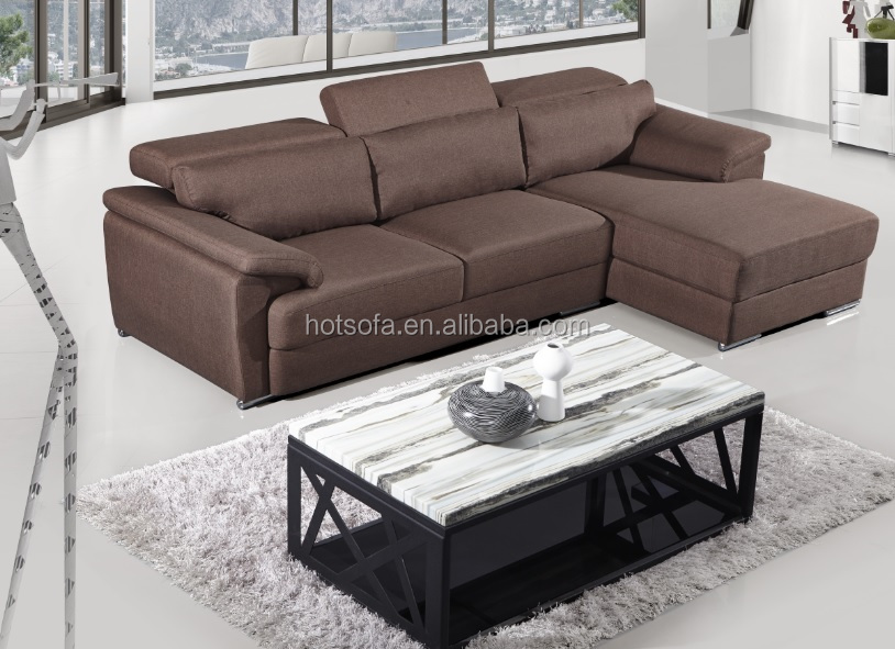 New Model Wooden L Shaped Sofa Sets Guangdong Home