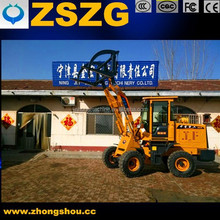 1.8-ton Wheel Loader Truck with Flat Fork, Multiple Functions Bucket and Snow Plow