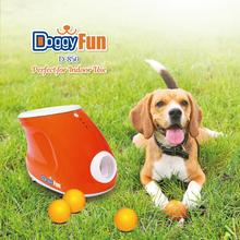 Promotional interactive plastic dog toys ball launcher