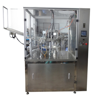 2017 newly design tubes filler sealing machine made in china