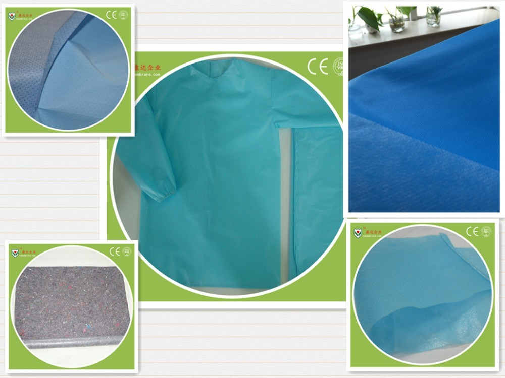 Environmental protection material The medicinal materials Breathable PE film backsheet raw material for Protective clothing