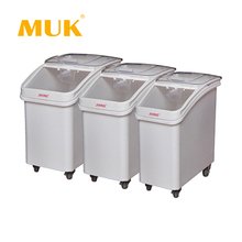 MUK hotel restaurant kitchenware durable plastic flour storage ingredient bins
