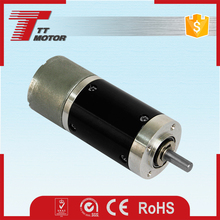 Car electric gate planetary 24mm 12v dc gear motor with encoder