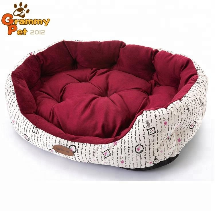 Comfortable Cheap Factory Price High Quality OEM PP Cotton Plush Soft Dog Bed