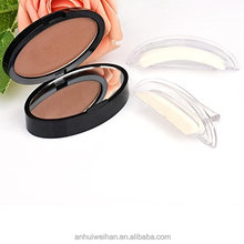 Hot sell new design beauty cosmetic eyebrow stamps, waterproof stamp seal eyebrow powder