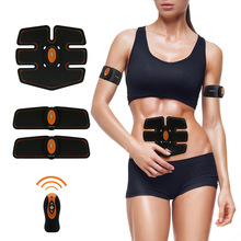 Slimming ems body muscle trainer Wireless control health Care Vibrating Massager Electronic Muscle Building Body muscle traine