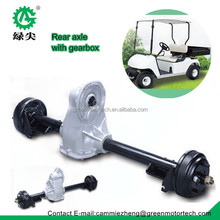 electric golf cart axle rear axle with gearbox