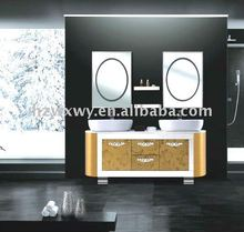 Selling Well Luxurious Double Sink Bathroom Vanity Cabinet