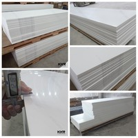 China High Quality PMMA 12mm White Color Acrylic Solid Surface