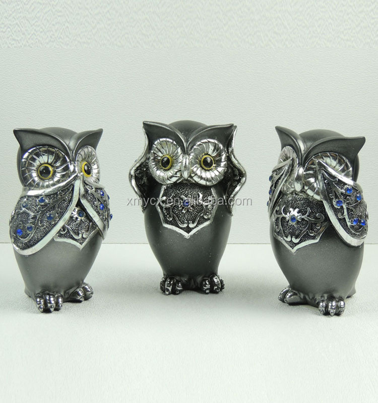 Hear no evil lovely antique owl figurines for home buy hear no evil figurines lovely owl - Hear no evil owls ceramic ...
