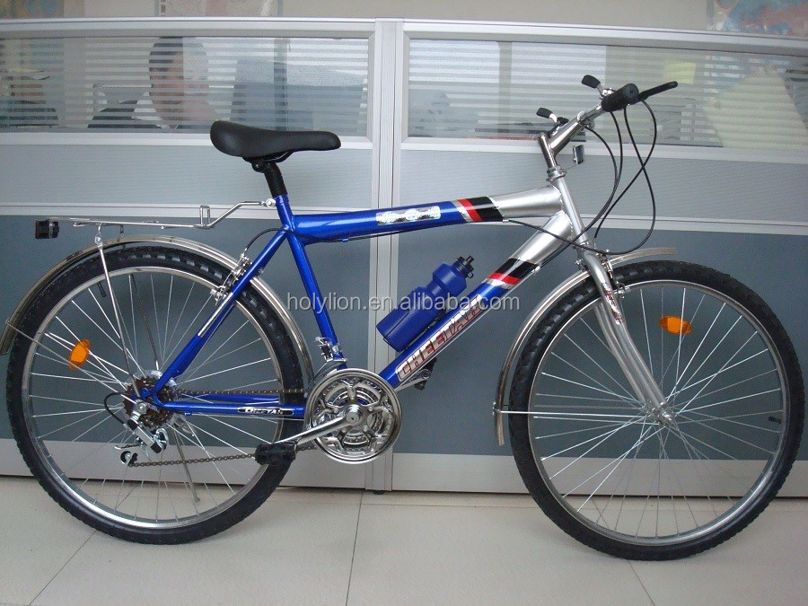 simple popular mountain bicycle with steel rim (SSM023)