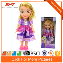 "14"" child real vinyl doll baby toy for sale"