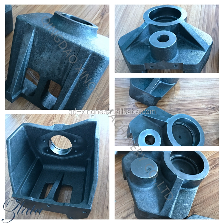 Water glass investment casting steel casting parts for industrial machinery parts