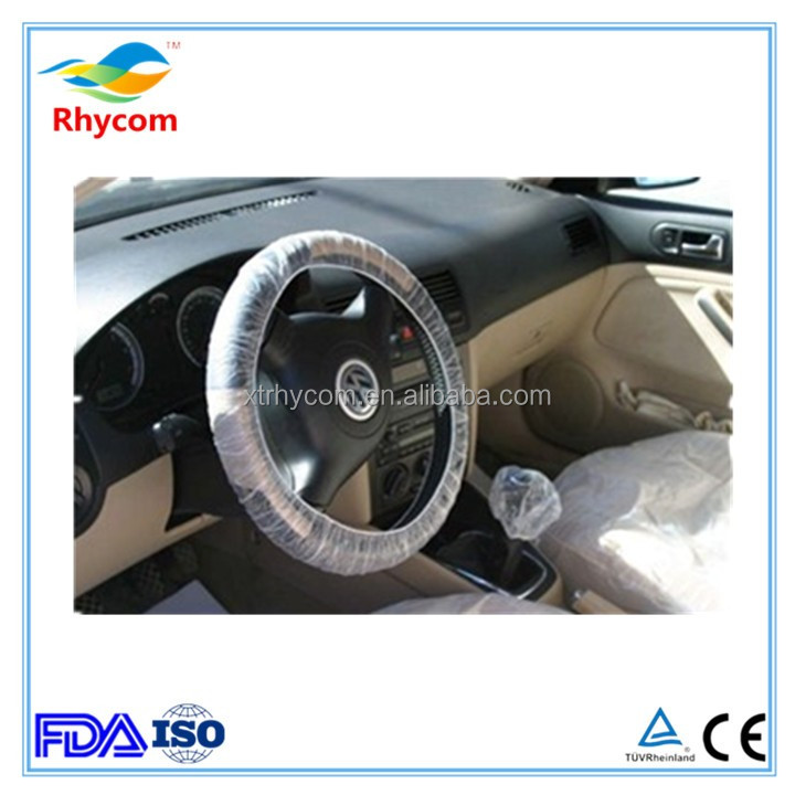 PE plastic shrink swift brand clear girl steering magnetic cute spinning baseball car repair proction wheel cover