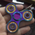 EDC Tri Digit Air Aluminum Brass Finger Gyro Fidget Spinner
