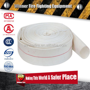 Good price Certificated PVC/PU/EPDM/Rubber Fire Hydrant Hose with strong Polyester