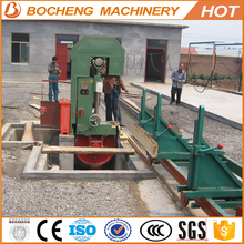 Portable industrial wood cutting machine vetical sawmill