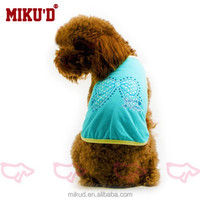 Sweet butterfly with Rhinestone Dog Vest factory price