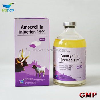 liquid injection 15% amoxicillin trihydrate compacted