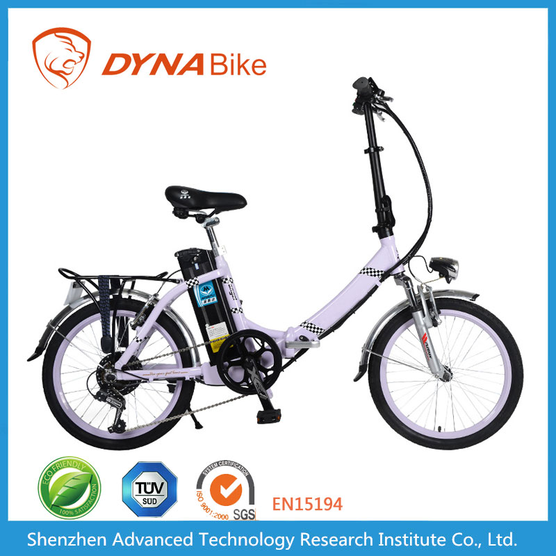 DYNABike Hot Selling RAINBOW L1 Model 20*2.125 Tubed Tyre 250W 36V Electric Bicycle Spare Parts