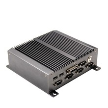 Firewall Computer for 1080P home theater mini itx case with fanless router motherboard
