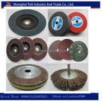 wood sanding flap wheels/sanding rubber wheel