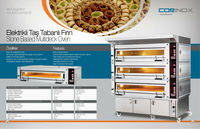 ELECTRICAL STONE BASED MULTIDECK OVEN