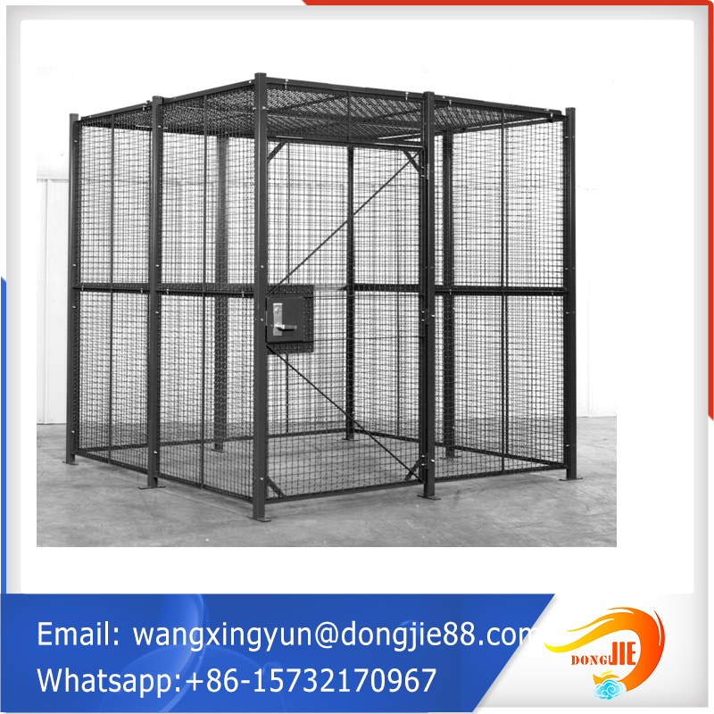 International Alibaba warehouse metal storage cage with wheels