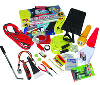 42pcs car winter emergency tools kit