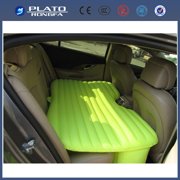PVC inflatable car travel car mattress, inflatable car air bed