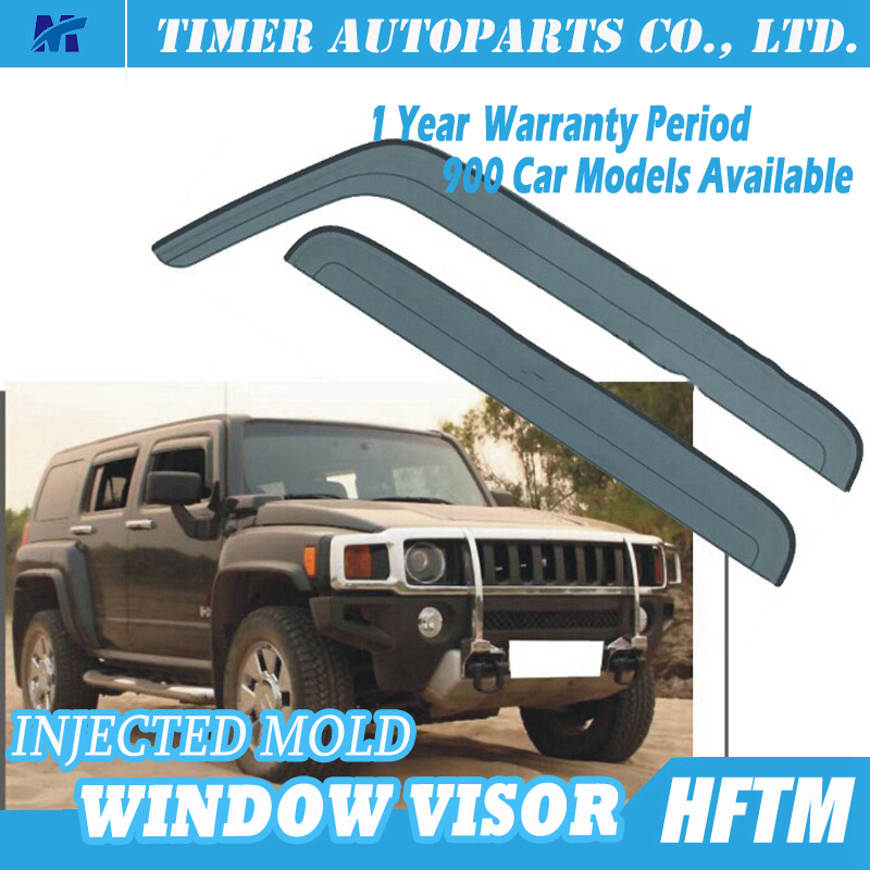 For Hummer H3 plastic car window shields