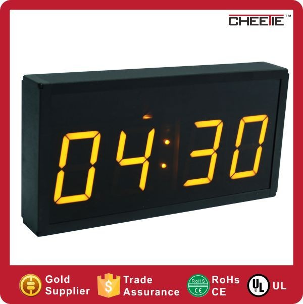 2015 Red Digital Clock 4 Digit 3 Inch Countdown Timer Hours Minutes