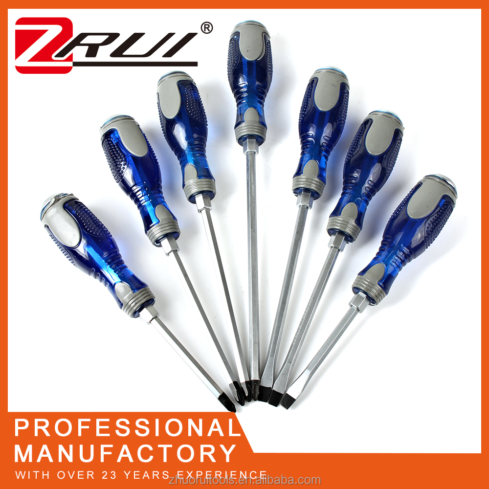 CRV steel hand holding high precision magnetic phillips flat screwdriver