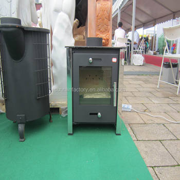 popular steel plate wood burning modern stove(DL012)