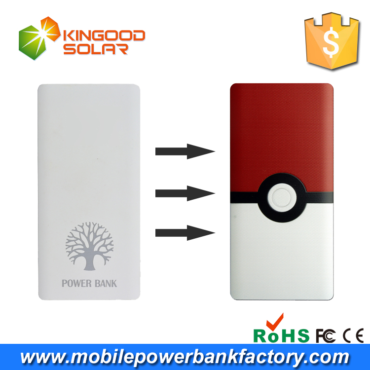 Super capacitor universal cell phone battery charger ,cartoon character 10000mah smartphone power bank with flashlight