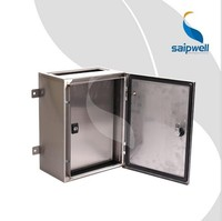 Saipwell Custom IP66 Waterproof Project Outdoor Steel Electrical Boxes Best Price Metal Electrical Boxes