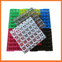 New Design Plastic chicken quail Egg Tray Colorful Egg Trays