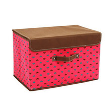 Europe Popular Folding Storage Box 12X12 Fabric Storage Bins Cloth Cubes For Storage